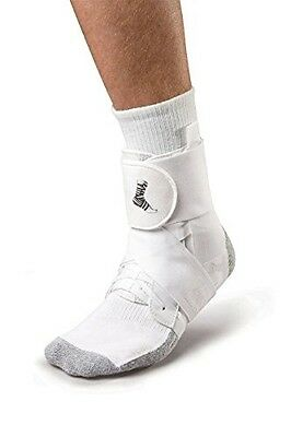 New Mueller The One Latex Free Sports MAX Support Ankle Brace Wrap XS-XXL White