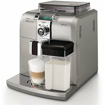 Saeco HD8838/47 Stainless Steel Syntia Cappuccino Machine BBHD8838