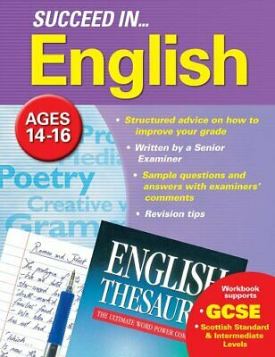 Succeed In GCSE English by Arcturus Publishing Book The Cheap Fast Free Post