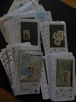 ISLE OF MAN : Clean lot of all Valid for Postage. Total Face Value £591.91