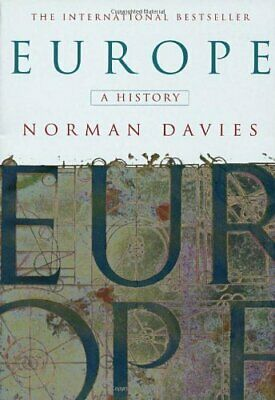 Europe: A History by Davies, Norman Paperback Book The Cheap Fast Free Post