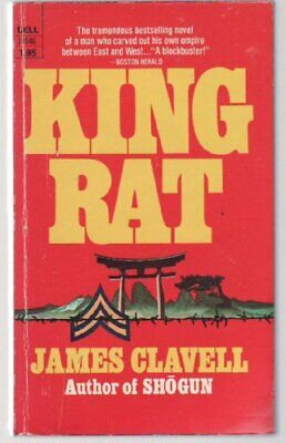 King Rat by Clavell, James Paperback Book The Cheap Fast Free Post