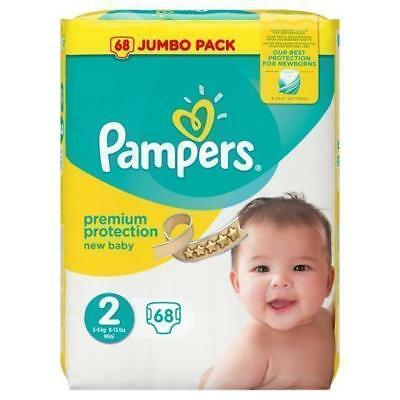 Pampers New Baby 3 - 6KG 68's Size 2 Pampers