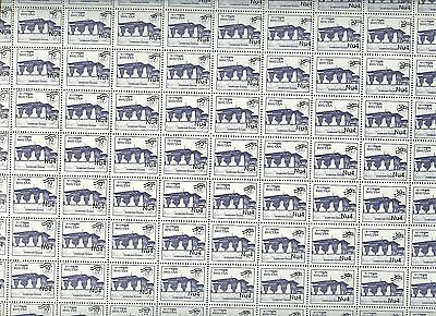 Bhutan, Dzong Variety, 2 Values In Full Sheets Of 100!