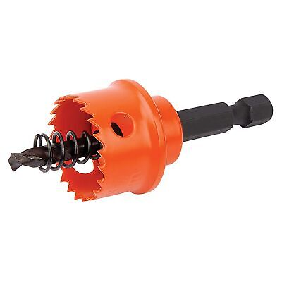 Draper Expert 22mm Bi-Metal Cutting Hole Saw With Integrated Arbor - 34984