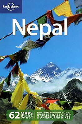 Nepal (Lonely Planet Country Guides) by Bindloss, Joseph Paperback Book The