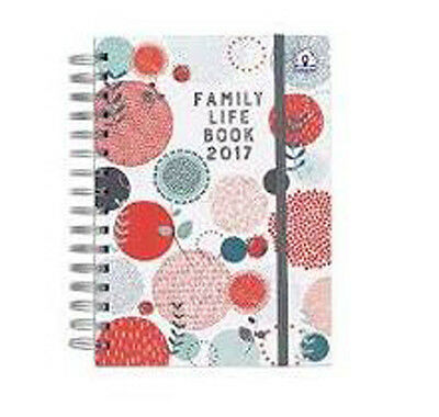 Organised Mum Family Life Book Diary 2017 - Planner Diary A5 size Great Gift