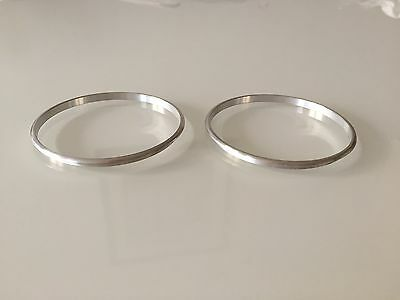 Vauxhall Opel Astra Mk5 H Alloy Chrome Speaker Ring Surrounds