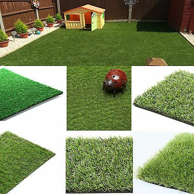 Artificial Grass Astro Turf Cheap Realistic Natural Green Lawn Garden Cheap Roll