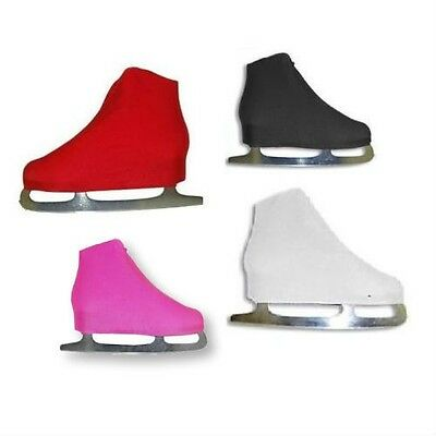 New A&R Figure Ice Skate Nylon Lycra Boot Covers Skate One Size Fits Most Pink