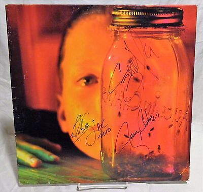 Alice in Chains Group Signed Autographed Album