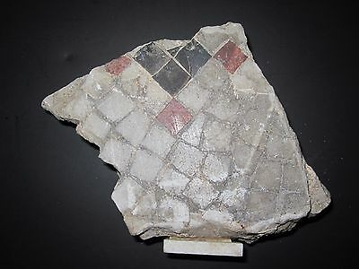 ANTIQUE 1880s ARCHITECTURAL ARTIFACT CHICAGO PRAIRIE DISTRICT RARE MOSAIC TILE