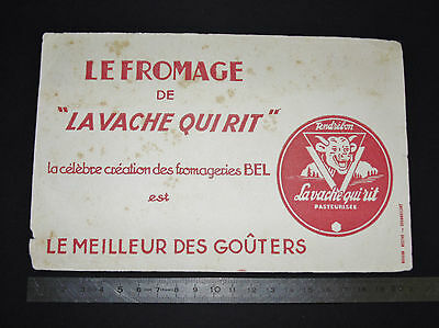 Buvard 1950-1960 Fromage La Vache Qui Rit Fromageries Bel