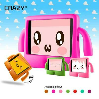 Stand Shockproof Kids Case Cover for iPad Mini 1 2 3 iPad Air 2 iPad 2 3 4, Pro