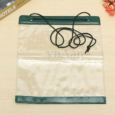 New PVC Transparent Waterproof Map Document Storage Case Holder Pouch Camping