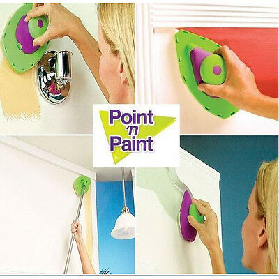 DIY NEW PAINT Roller PERFECT SPEED HOME PAINTING SYSTEM JUST POINT 'N' AND PAINT