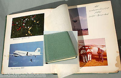 Photo Album Parachute Jumping 1970er Years Aerial Photographs Competitions