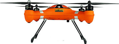 SPLASHDRONE AUTO PLUS V5 RTF - Waterproof Quad Coptor Drone New Orange Version