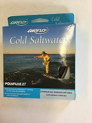 Airflo Cold Saltwater Striper Di3 Sinking Wf10S3 Fly Line
