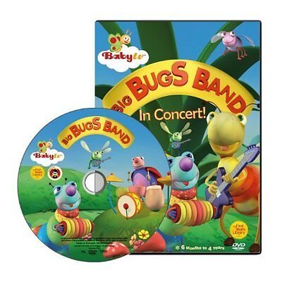 Babytv Dvd Big Bugs Band Home Household Supplies Learning Babyfirst Development