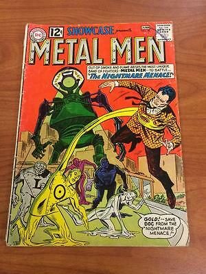 Showcase #38 2nd app Metal Men 1960's GD/VG DC Comics