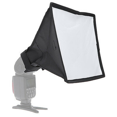 Universal Mini Portable Softbox Case Diffuser Speedlite/Speedlight 20x30cm