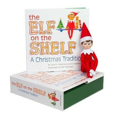 The Elf on the Shelf: A Christmas Tradition (Boy Elf with Light Skin) by Carol V