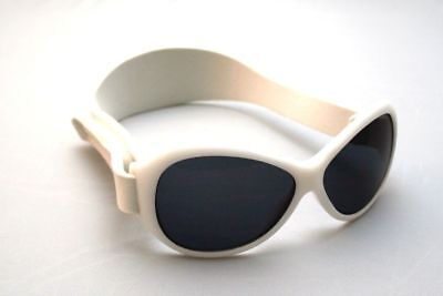 Baby Banz Retro Banz Infants' Sunglasses - Cool White for ages 2 Months - 2 Year