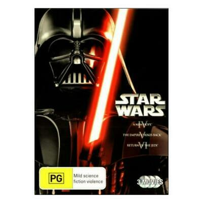Star Wars Trilogy - A New Hope / Empire Strikes Back / Return Of The Jedi - DVD