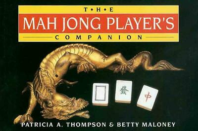 The Mah Jong Player's Companion by Patricia A. Thompson Paperback Book Free Ship