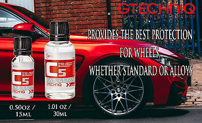 Gtechniq C5 Wheel Armour long-lasting tyres nano coating protection and care