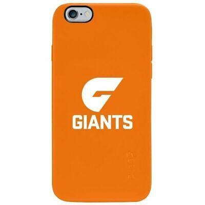 Gecko AFL GWS Giants Team Cover for iPhone 6/6S Case w/ Screen Protector