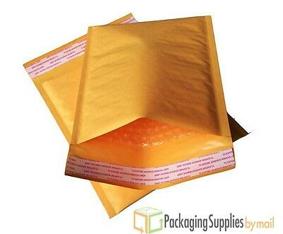 """#000 4"""" x 8"""" Kraft Bubble Mailers Padded Envelopes Small Bags 500-18000"""