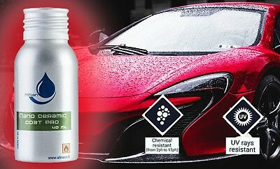 3 X PROFESSIONAL NANO AllNano Carcare Ceramic Coat PRO Coating For Car Paint