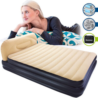 Bestway Matelas lit gonflable - Airbed - Queen Size - 226cm - Pompe incluse