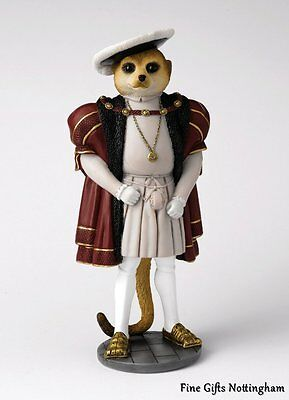 """Magnificent Meerkats Figurine """"Henry"""" Country Artists Collection"""
