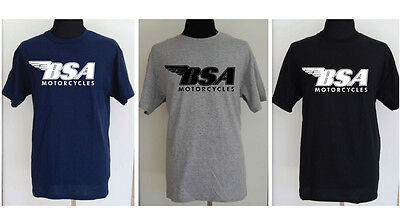BSA motorcycle t-shirt - SMALL to 2XL -The Allsorts Group