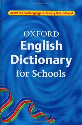 Oxford English Dictionary for Schools by Rennie, Susan Hardback Book The Cheap