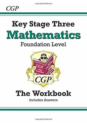 KS3 Maths Workbook (with answers) - Foundation ... by Parsons, Richard Paperback
