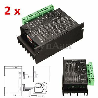 2x CNC Stepper Motor Driver Controller Single Axis TB6600 for Engraving Machine
