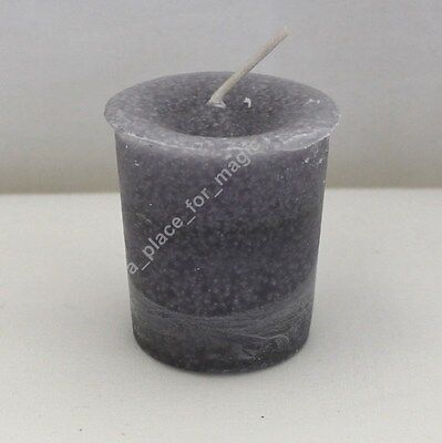 Reiki Herbal POWER Scented Votive Candle Crystal Journey
