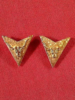 Vintage Longhorn Collar Tips
