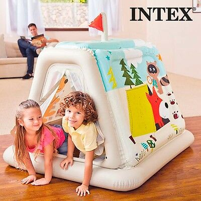 Children Tent INTEX Inflatable Toy Kid's Playground Toddler Baby Girl & Boy Game
