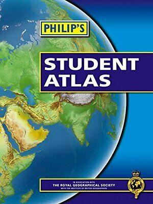 Philip's Student Atlas: Paperback, Various Paperback Book The Cheap Fast Free