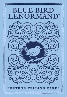 Blue Bird Lenormand: Fortune Telling Cards by U.S. Games Inc Systems Hardcover B