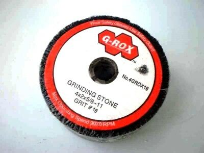 Lot of 18 Grinding Stone Grit #16 G-Rox 4GROX16 4x2x5/8-11 Wheel straight 4 in