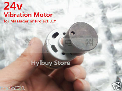 DC 385 Motor 27.5mm vibration vibrating Motor 12v~24v for Small Massager