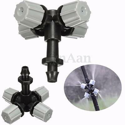 Cross Garden Misting Atomizing Nozzle Sprinkler Humidifier Cooling Lawn Watering