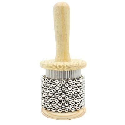 Gentle Sound Wooden Cabasa Percussion Band Instrument Shaker Accessories S
