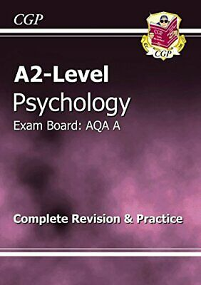 A2-Level Psychology AQA A Complete Revision & Practice by CGP Books Paperback